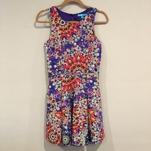 Colorful dress by Nanette Lepore